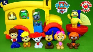 Paw Patrol Funny Toy Stories for Kids Magic School Bus Wonder Pets School House Jungle Rescue Toys