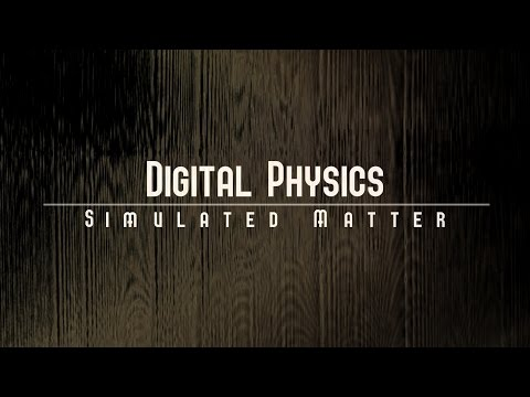 Digital Physics : SIMULATED REALITY - Wood Texture Harmonics