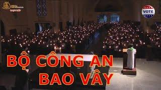Sài Gòn đêm 17/6 rực sáng ánh nến cầu nguyện cho tổ quốc, bộ công an cho canh cẩn mật #VoteTv