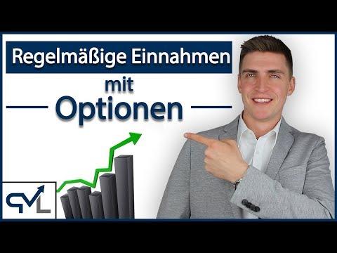 Wie wir Optionen nutzen um regelmäßige Einnahmen an der Börse zu generieren