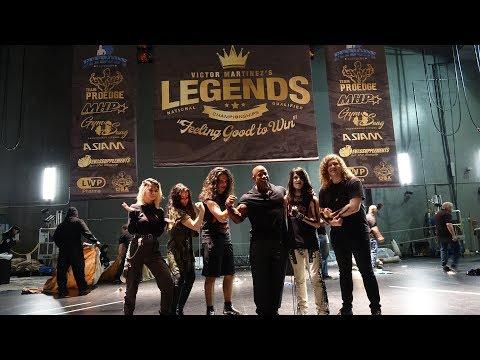 Lunatic Fringe @ Bodybuilder Victor Martinez's Legends Championship 2018