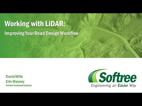 Working with LiDAR: Improve Your Road Design Workflow