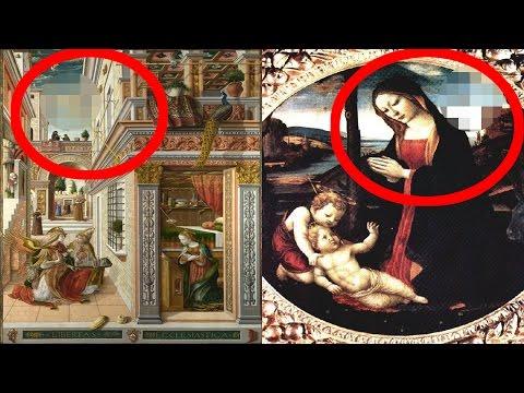 【衝撃】UFO・宇宙人が描かれた歴史的絵画7点に世界が震えた!過去に地球に訪れていたことの証明か!?  摩訶ちゃんねる