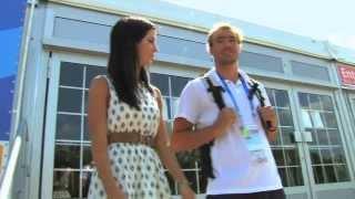 Kazan Universiade Village tour with USA Water Polo