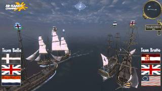 Empire Total War Online Naval Battle #12: Olanda Vs Inghilterra [HD]
