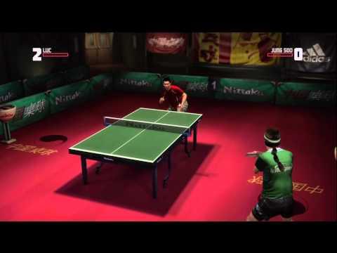 Rockstar Table Tennis - Serving Aces Luc vs Jung Soo (Expert)