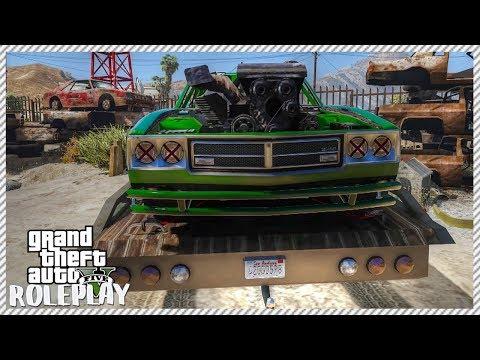 GTA 5 ROLEPLAY - Building Demolition Derby Car | Ep. 82 Civ