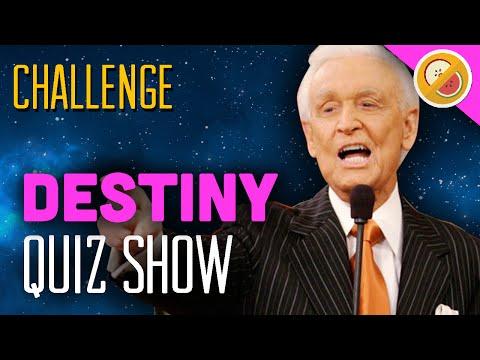 "DESTINY CHALLENGE ""Quiz Show"" Super Hyper Brain Game Special (Funny Moments)"
