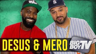 Desus & Mero React to Top Rappers list, Moving to Showtime & How Life's Changed