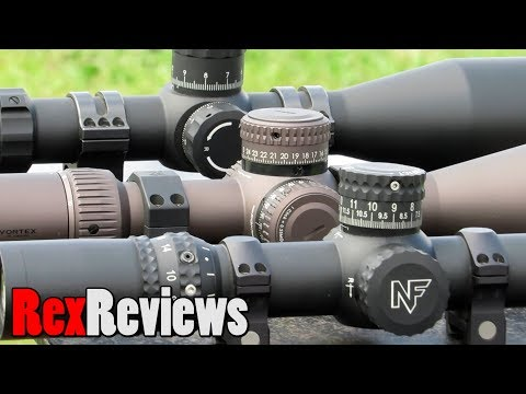 OPTICS SHOWDOWN! Nightforce vs Vortex Razor vs Primary Arms ~ Rex Reviews