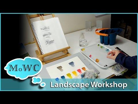 Strathmore Artist Workshop – Landscape Part 1