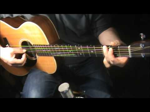 4 + 20  -Crosby, Stills and Nash- fingerpicking-chords-cover