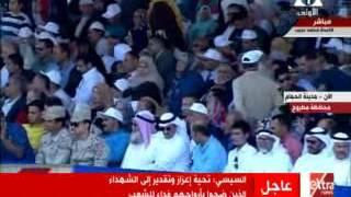 فيديو..«السيسي» لداعمي الإرهاب: لن تستطيعوا النيل من مصر أو أشقائها
