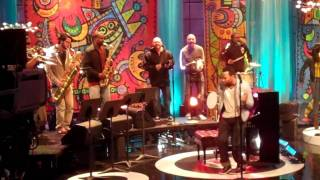 """JL's Rehearsal Performance """" I Wish I Knew How It Would Feel To Be Free"""" On The Jay Leno Show, LA"""