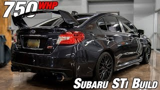 750whp SUBARU STi  |  FULL BUILD