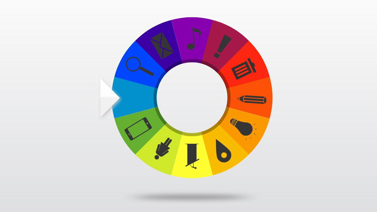 wheel of fortune prezi template - youtube, Powerpoint templates