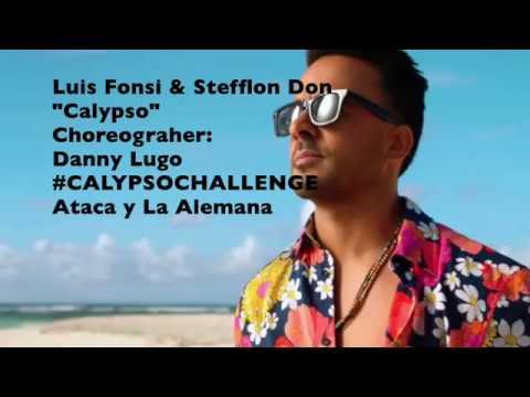 Ataca y La Alemana Dance to Luis Fonsi: Calypso calypsochallenge