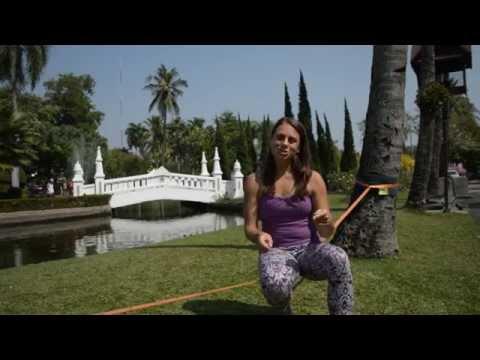 Yoga Slackline Sessions: Standing on the Slackline