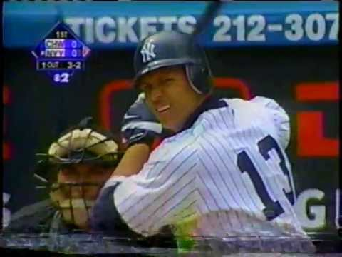 Alex Rodriguez's first Yankee at-bat at home