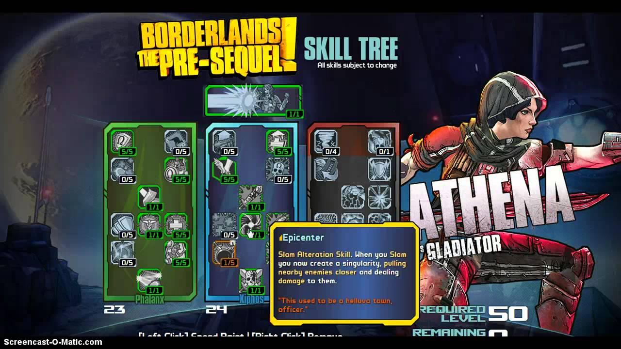Borderlands  Athena Build
