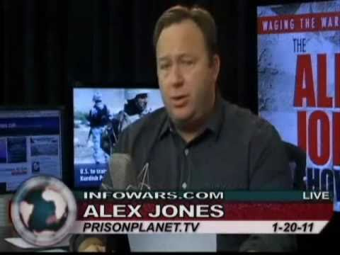 1-20-11 The Alex Jones Show - China's capitalism: workers at Apple climb up on the roof and jump off