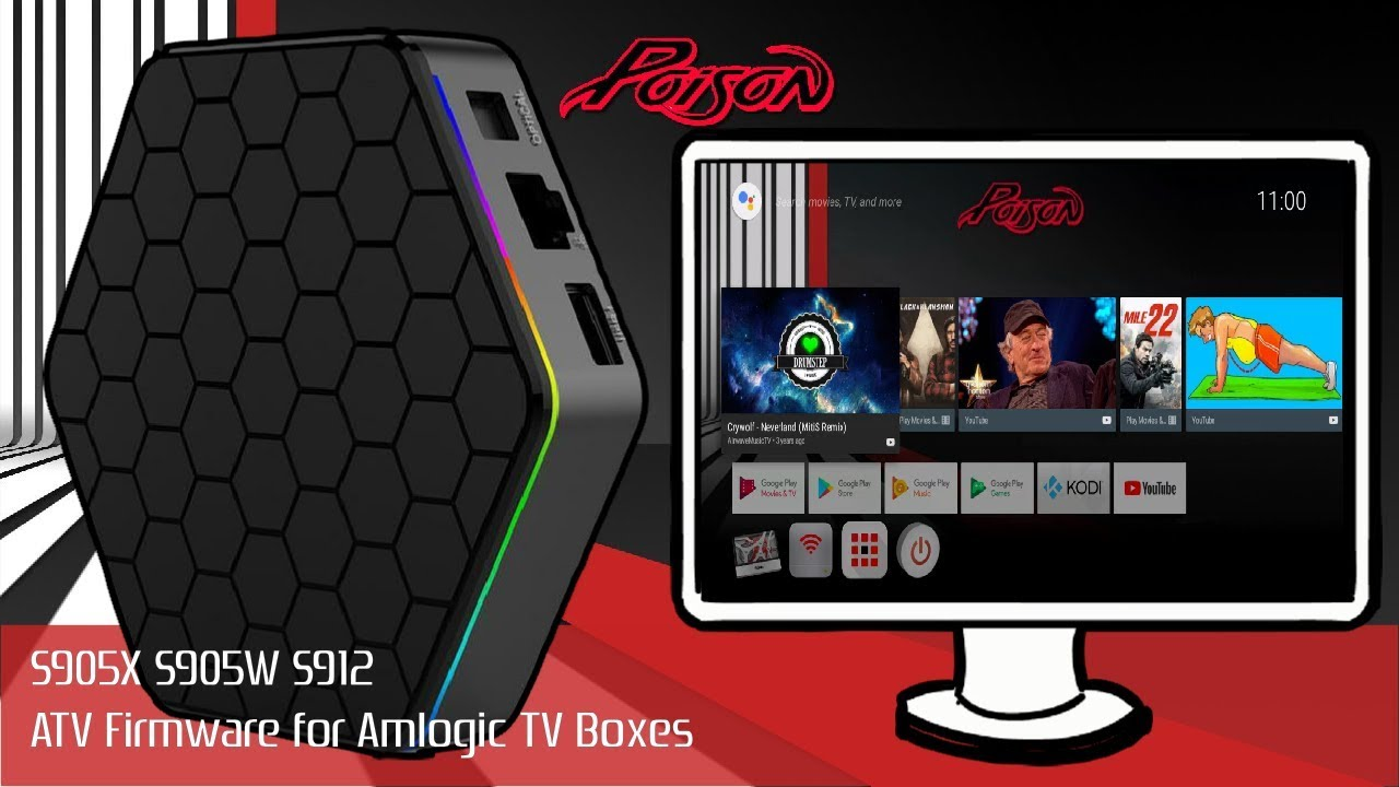 Amlogic S905X, S905W and S912 Red Poison ATV Firmware Install Guide