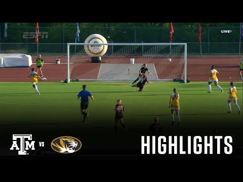 Soccer: Highlights   A&M 5, Mizzou 1
