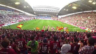 ヴィッセル神戸 選手チャント 2018/08/11 VS磐田.