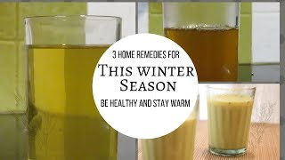 Cold and Cough Home Remedies