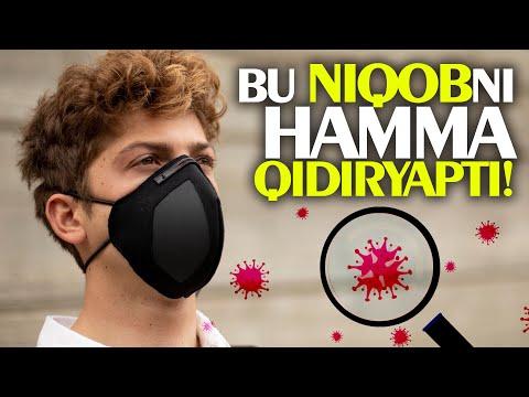Koronavirusdan 99% saqlaydigan niqob (maska) yaratildi! 🔥