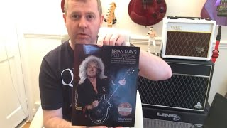 Brian May Sent Me Signed Red Special Book As A Present - Queen Guitarist Autographed Guitar Book
