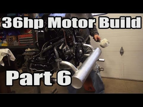 Classic VW BuGs 36hp Beetle Air-Cooled Motor Engine Rebuild Part 6
