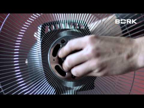 Видео BORK P502 инструкция по сборке вентилятора