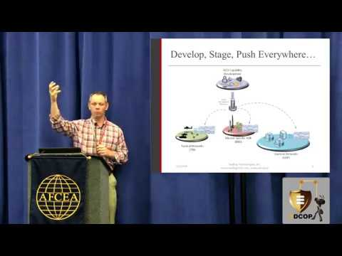 EDCOP Presentation at AFCEA DCO Symposium 2018