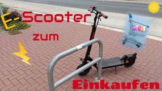 #E-Scooter zum Einkaufen 🛴😀☀️/ #Telefunken Synergie S 950 ⛰️🔥