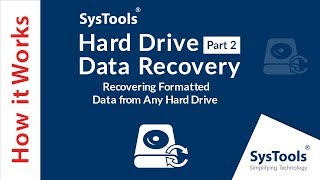Recover File After Formatting Hard Disk Via SysTools Formatted HDD Data Recovery Software
