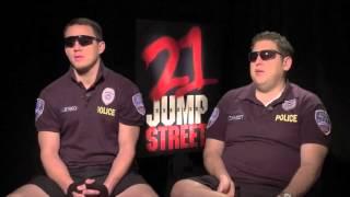21 Jump Street: Brooke Burgstahler Interviews Channing Tatum and Jonah Hill