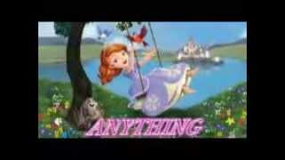 anything- Sofia the first lyrics