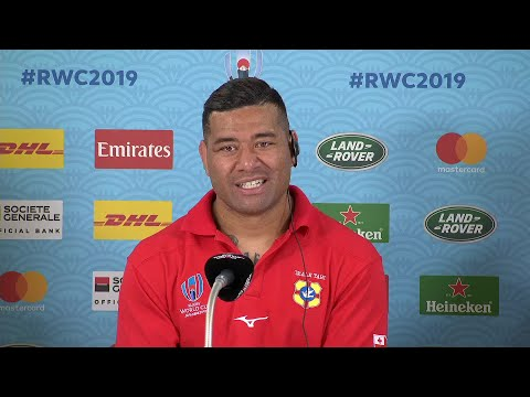 Tonga post match press conference at Rugby World Cup 2019
