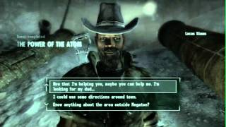 Fallout 3 - How To disarm the bomb and get a house in Megaton