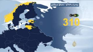 روسيا والناتو.. سباق عسكري