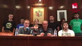 Rueda de Prensa Moción de censura en Fuenmayor