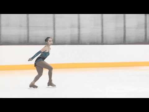 2012 Golden West Championships Novice Ladies Short Program 1   Lily Bai