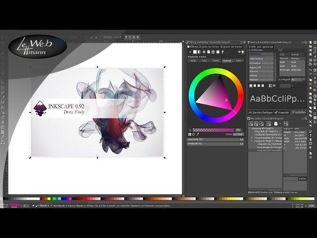 Vektorgrafik-Tutorials mit Inkscape 001 - Eine Einf