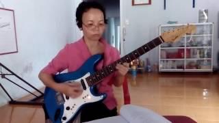 Guitar điện - Để quên con tim 315 (tập đàn)