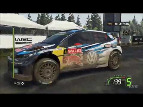 WRC 5 FIA World Rally Championship - Wales Rally GB - Gameplay Compilation (PC HD) [1080p60FPS]