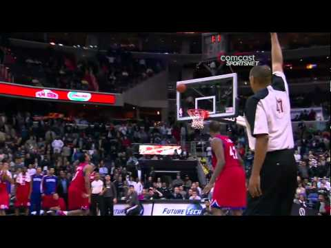 Cartier Martin game-tying shot vs. Sixers (Nov. 2, 2010)