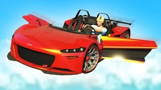 NEW FLYING GO-KART! (GTA 5 DLC)