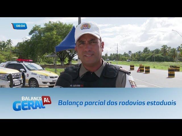 Carnaval: Balanço parcial das rodovias estaduais