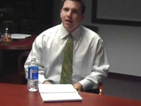 Jessamine County jailer-candidate session, part two